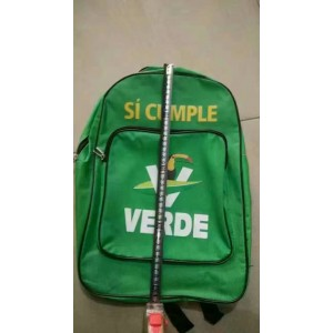 schoolbag/backpack si cumple verde