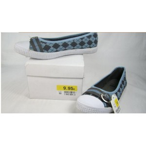 GS111103-9 -9500PCS CANVAS SHOES FOR GIRLS(SOLD)